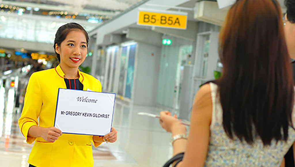 Airport Greeter Singapore